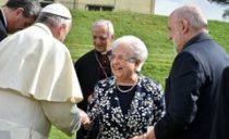 Steun vanwege het focolare aan paus Franciscus