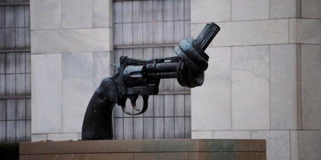 """""""Neen"""" voor de productie van wapens"""
