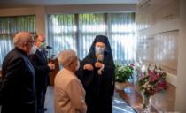 De Oecumenische Patriarch Bartholomeüs van Constantinopel bezoekt het internationaal Focolarecentrum