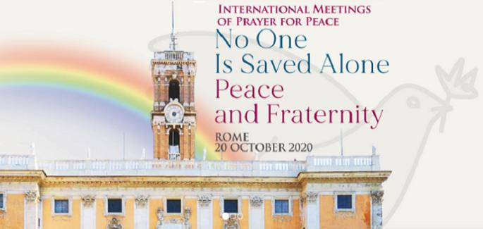 Rencontre internationale de Prière pour la Paix à Rome