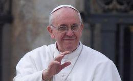 Zaterdag 6/2 privé-audiëntie van de paus met de nieuwe presidente en copresident