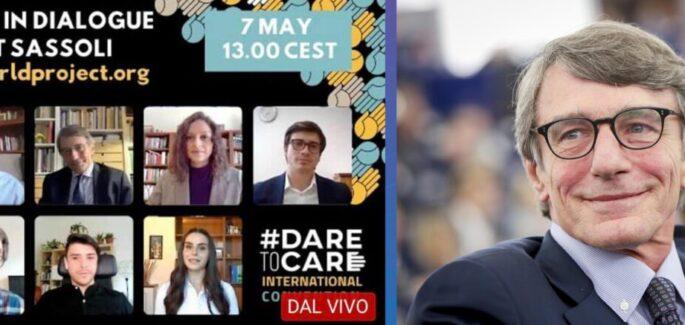 """David Sassoli: """"Jongerenparticipatie is van cruciaal belang voor de toekomst"""""""