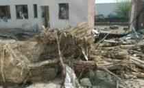 Overstromingen bij ons in Chênée
