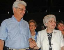 Junto a Chiara Lubich