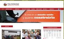 La EdC de estreno: web del Polo Solidaridad