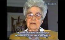 1998 – Chiara Lubich en Argentina: saludo de Pascua