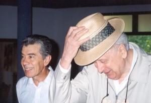 Con Victorio Sabbione