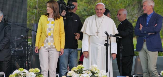 El Papa Francisco: ustedes transforman los desiertos en bosques
