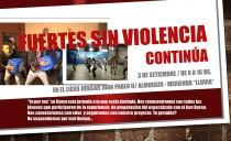 """""""Fuerte sin violencia"""" continúa en Montevideo"""