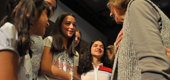 María Teresa y Chicca en Paraná: un paso que nos recorrerá por siempre