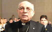 """Mons. Agustín: """"cuando un amigo se va…"""""""