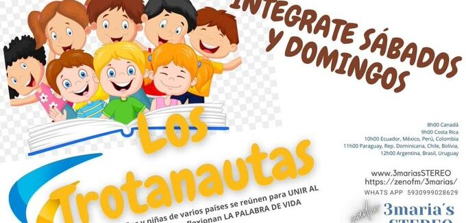 """Los Trotanautas"" – Programa radial infantil"