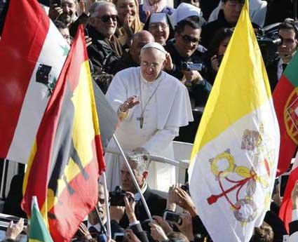 Amb el Papa Francesc