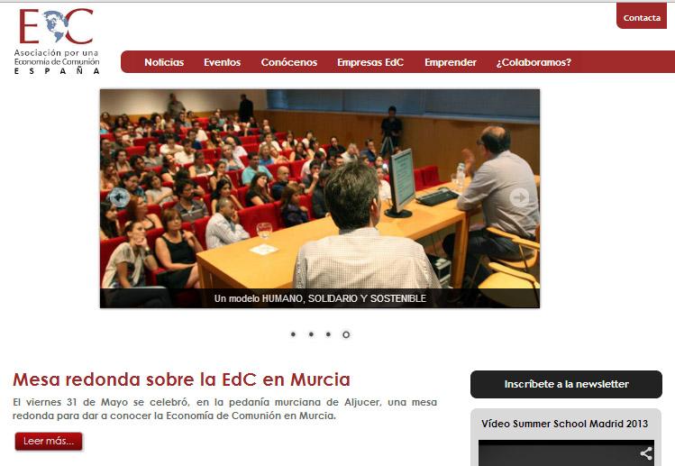 Nace la web de la EdC
