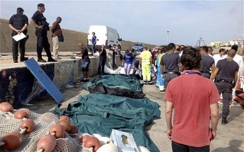 Traxedia en Lampedusa