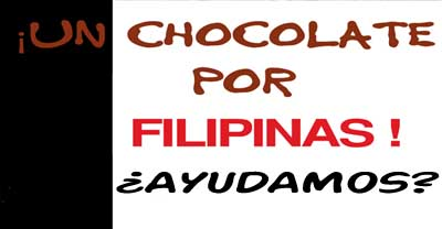 ¡Un chocolate por Filipinas!