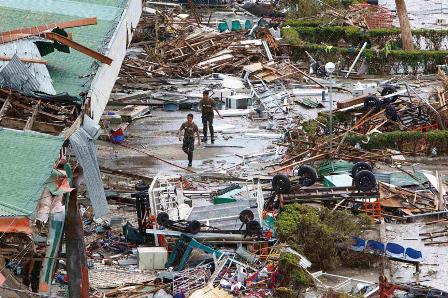 Haiyan asola Filipinas