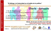 Caravaca – Diálogo y fraternidad en política