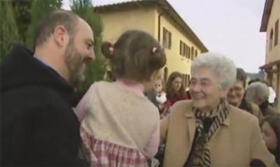 Chiara Lubich i la família