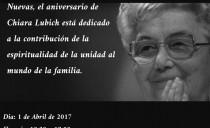 Valencia – Aniversario Chiara Lubich