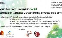 Zaragoza – Aldaketa sozialerako proposamenak