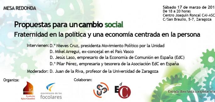 Zaragoza – Propuestas para un cambio social
