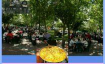 Paella solidaria en Ogíjares