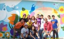 Gioventù Nuova, Azione di dipingere una casa per bambini
