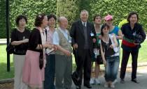 Gruppo del Movimento parrocchiale con Don Raggio