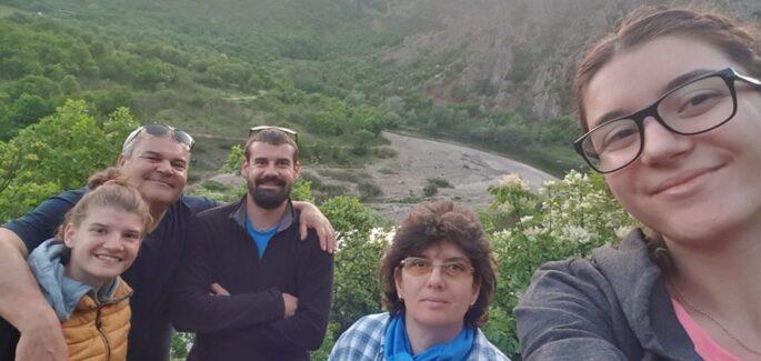 Dalla catena dei Balcani alle colline toscane