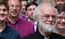Rowan Williams at Bishops' Synod in Rome