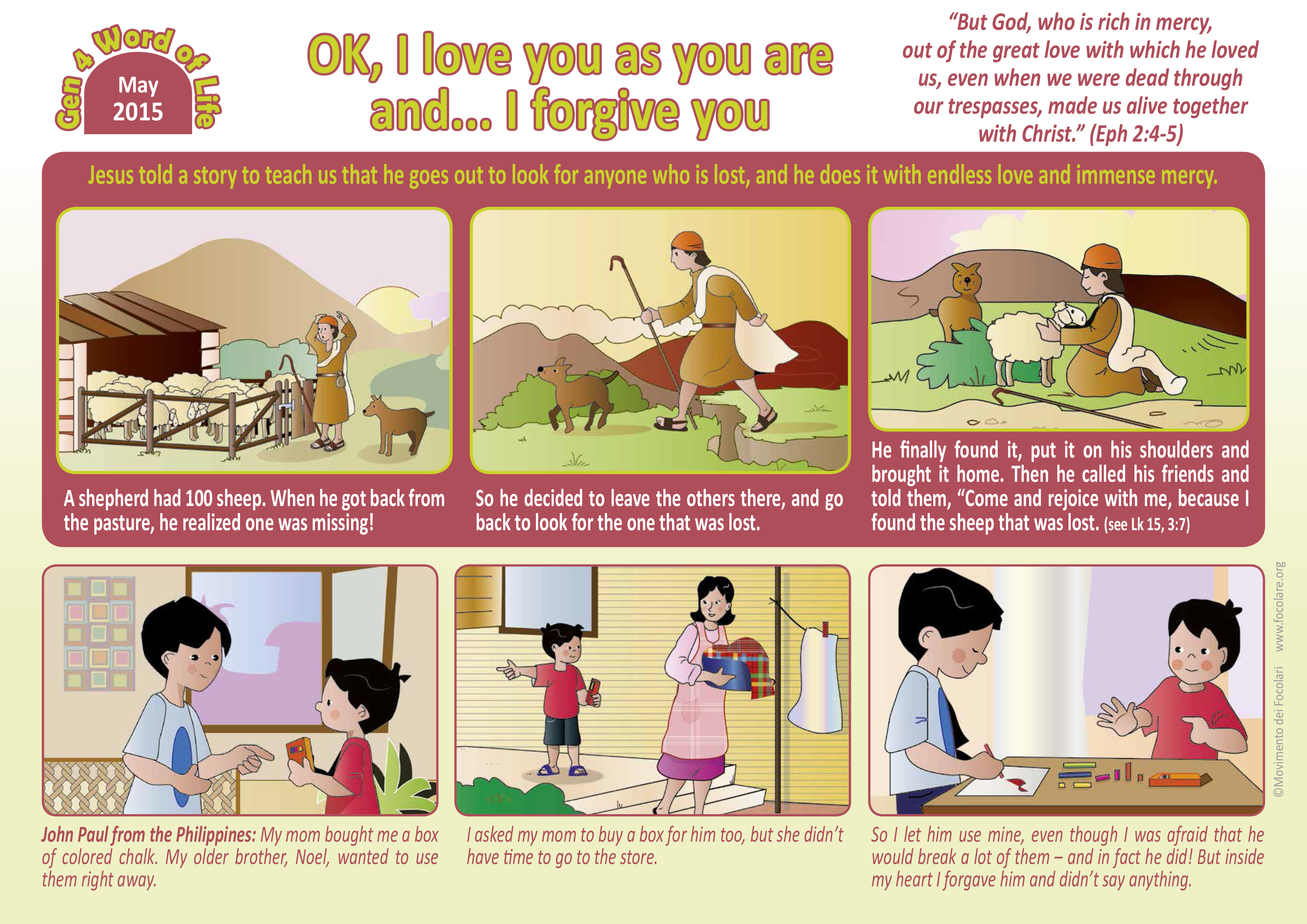 may word of life for children great britain