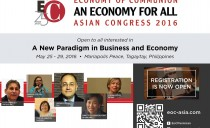 Philippines: First Economy Of Communion Pan Asian Congress. LIVE STREAMING EVENT