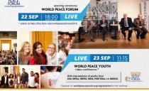 Brazil: World Peace Forum 2016