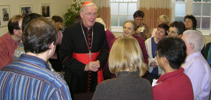 Cardinal Cormac – 'Thank you for being you'