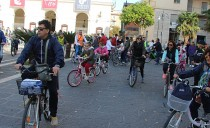 On two wheels for peace