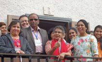 Hindus visit Tonadico