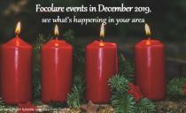 Focolare events in December 2019