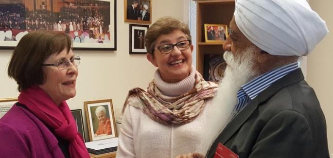 Interreligious friendships in England