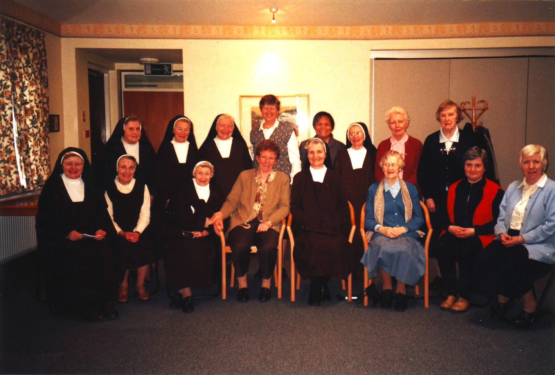 Sr. Loreto and Nenita's visit to Carmelite Convent, Malahide, May 2006
