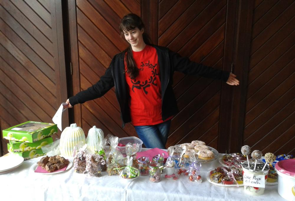 Just desserts!  Cake sale in Ballinteer brings sweet donations for youth lab!