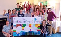 """We've built a bridge of peace!"" say young people gathering in Kildare!"