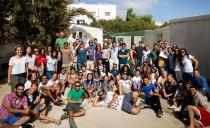 Young Irish at international project in Jordan