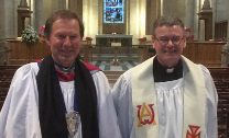 Catholic priest installed as ecumenical canon in St Anne's Cathedral