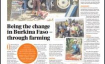 Being the change in Burkina Faso – through farming