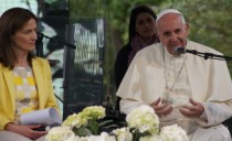 教皇フランシスコ ローマのマリアポリへ参加