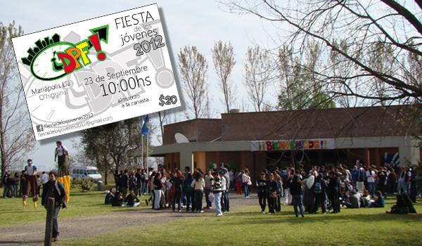 Fiesta de los jóvenes 2012