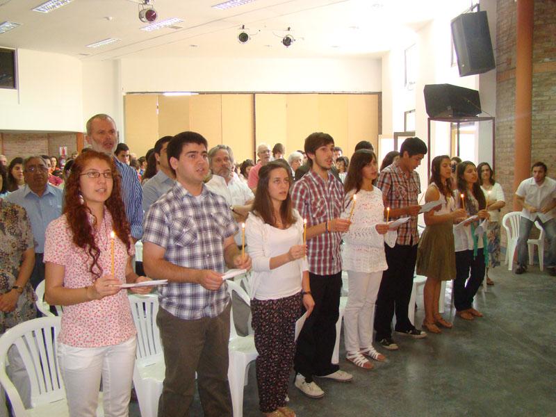 El sacramento de la confirmación en Mariápolis