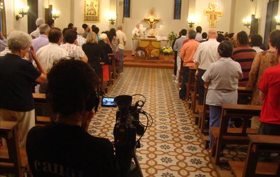 Misa de Navidad en Mariápolis por Televisión e Internet