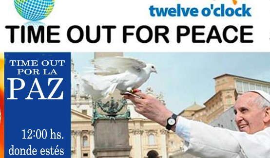 Time out por la paz